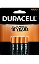 4 x Duracell DC2400B4N AAA 900 mAh Batteries 1 x Pack Of 4 Batteries New