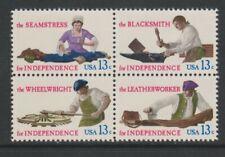 USA - 1977, American Revolution, Skilled Hands set - m/m - SG 1693/6