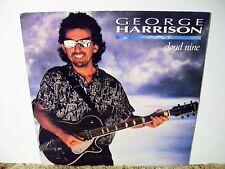 GEORGE HARRISON, CLOUD NINE, 1987 CLASSIC HARRISON  ROCK ,  NEAR MINT LP
