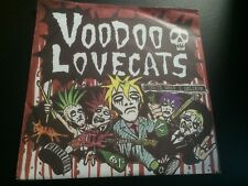 "VOODOO LOVE CATS MELBOURNE GOTHIC ROCKABILLY OI RARE 7"" NEW RARE PUNK"