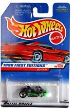 1998 Hot Wheels #651 First Edition #21 Go Kart (red car card)