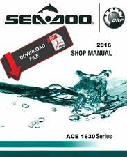Sea-Doo 2016 RXT-X 300 RS Service Manual