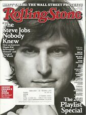 OCTOBER 27 2011 ROLLING STONE MAGAZINE STEVE JOBS APPLE MICROCOMPUTER REVOLUTION