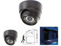 Dummy Security Camera with Security Light - Motion Activated LED Security Light