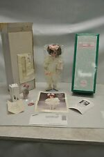 USED 1991 Ashton Drake Knowles The Little Girl with a Curl Mother Goose Doll