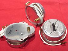 3 Pack, IRC 120 VAC Gear Motor 50 RPH, 5/6 RPM CCW 4.5W 60Hz 120V AC 9T Gearhead