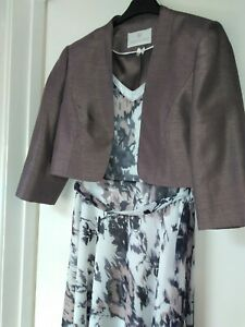 Wedding Mother of the Bride Dress 16 and Jacques Vert Bolero Jacket size 14