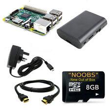 RASPBERRY PI 3 8GB Starter Kit Raspbian OpenELEC NOOBS LATEST -