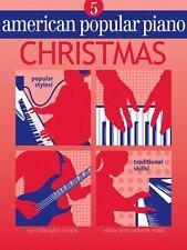 AMERICAN POPULAR PIANO CHRISTMAS, LEVEL 5 - NORTON, CHRISTOPHER (CRT)/ SMITH, RO