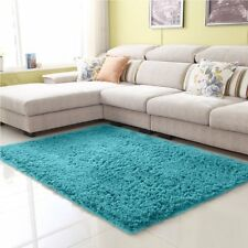 Home Decorate Fluffy Area Rugs Ultra Soft No-Slip Carpet For Living Room Bedroom