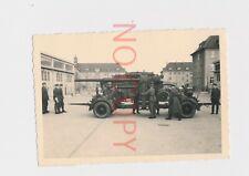 Foto WK II.  Gotha Kaserne 8,8 Geschütz Wartung Soldaten    #12