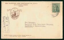Mayfairstamps Australia 1939 Hartford Fire Insurance Company Advertising Cover w