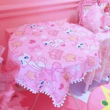 """Cute Kitten 39""""x27"""" Washable Tablecloth Great for Home Party Holiday Dinner"""