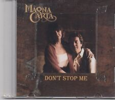Magna Carta-Dont Stop Me Promo cd single