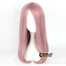 Little Witch Academia Sucy Mambavaran 55cm Long Pink Wavy Cosplay Anime Wig