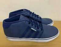Adidas Originals Seeley Mid Mens Trainers Blue Size.UK 10.5 / 11.5 ODD PAIR