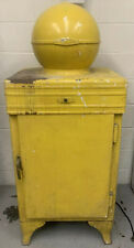 GE globe top refrigerator Works 1920s 1930s Vintage Fridge Ice Box General Elect