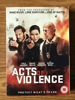 Acts of Violence DVD (2017) NEW SEALED