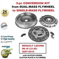 FOR RENAULT LAGUNA Mk III 2.0 dCi 2007-2015 BRAND NEW CLUTCH CONVERSION KIT