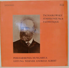 TSCHAIKOWSKY SYMPHONIE No. 6 PATHETIQUE WERNER ANDREAS ALBERT HUNGARICA LP (f55)
