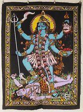 Indio Hindú diosa Kali Lentejuelas colgante de Pared Comercio Justo MEDIANO