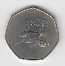 1970 IRISH-IRELAND 50p Near UNCirculated Condition Extremely Nice Coin   (2891)