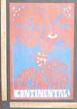 PJ Proby Shadows Of Knight Continental Ballroom ConcertPoster SantaClara CA 1967