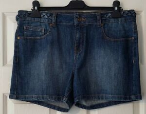 Next ladies Denim Shorts Size 14 pre owned, lovely condition worn once