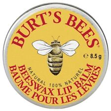 Burt's Bees 100 Natural Lip Balm Tin Beeswax 8.5g