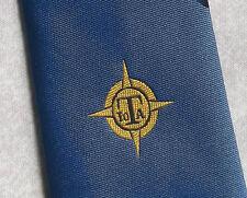 IOTA TIE COMPANY CORPORATE ADVERTISING CLUB ASSOCIATION 1970s 1980s NAVY MUNDAY
