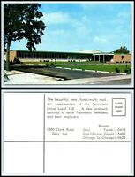 INDIANA Postcard - Gary, Headquarters Of The Teamsters Union Local 142 F28