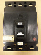 CHALLENGER SEH-2-C-20 SEH2C20 3 POLE 20 AMP 240V CIRCUIT BREAKER SYLVANIA