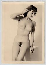 #786 ROESSLER AKTFOTO / NUDE WOMAN STUDY * Vintage 1950s Studio Photo - no PC !