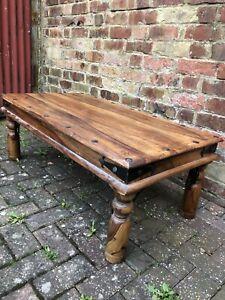 Indian Jali Sheesham Rosewood coffee table
