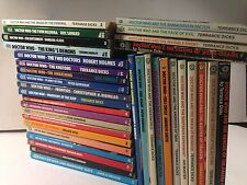 Dr Doctor Who Target Books Semi-sequential 35 Lot paperback