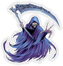 Grim Reaper Sticker Laptop Book Fridge Guitar Motorcycle Door PC Boat ATV #37