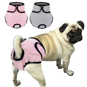 Girl Dogs Sanitary Pants Pet Physiological Diaper Washable Menstrual Underwear