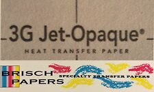 """INKJET TRANSFER PAPER FOR DARK FABRIC: NEENAH """"3G JET OPAQUE"""" (A3 SIZE) 100 CT"""