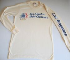Vintage Levi's 1984 Los Angeles Summer Olympic Stars Rings T-Shirt Size L Runs S