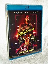 Willy's Wonderland (Blu-ray, 2020) Nicolas Cage Emily Tosta Beth Grant Ric Reitz