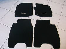 Genuine Honda Carpet Mats Civic 5 Door 2012 - 2016 Black with Black Trim 35MM