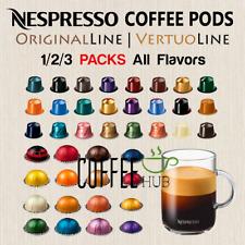 Nespresso Coffee 10 20 30 PACK Pod Capsule ORIGINAL LINE / VERTUOLINE lot FRESH