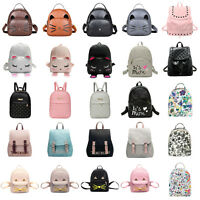 Women Girl Backpack Travel Leather Handbag Rucksack Shoulder School Bag Satchel