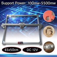 50x65cm Laser Engraving Cutting Engraver Frame Motor Kit For DIY Laser