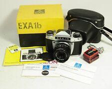 EXA 1b fotocamera con Domiplan Automatic 2.8/50 lens obiettivo