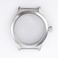Reloj de Pulsera 45 mm Caja De Acero Cristal Zafiro ajuste movimientos ETA UNITAS 6497/6498 Hombre