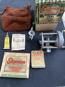 Vintage Pflueger Supreme Anti-Back Lash Casting Fishing Reel No. 1573
