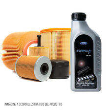 Kit tagliando 4 filtri + olio 5W30 Ford FOCUS II SW 1.6 TDCi 74 KW KF0021/fo