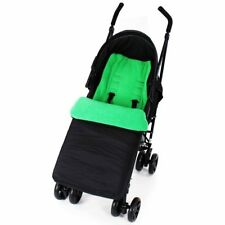 Footmuff Buddy Jet For Baby Jogger City Mini GT Double Stroller 2014 (Black)
