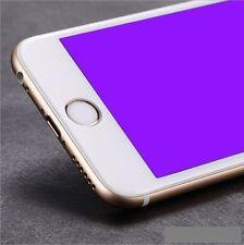 iPhone 7 PLUS 3D Full Cover WEIß Panzerglas SOFT EDGE Panzerfolie ANTIBLUE Weiss